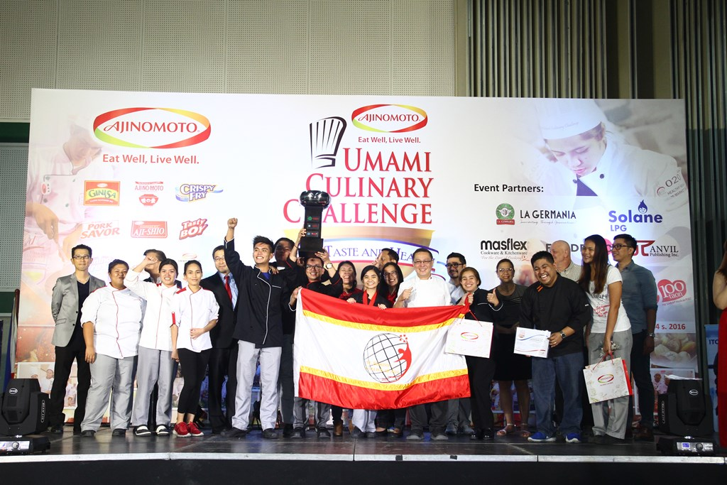 St. Dominic College of Asia is the Umami Bowl Champion of the 2017 Ajinomoto® Umami Culinary Challenge.