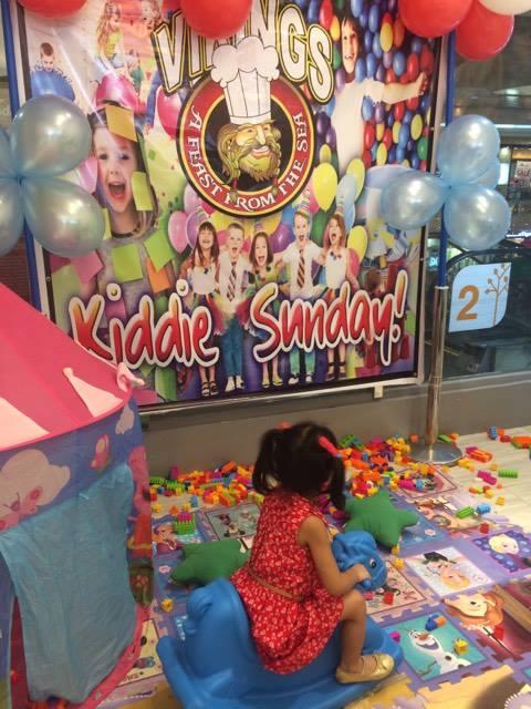 Vikings Cebu Kiddie Play - Every Sunday