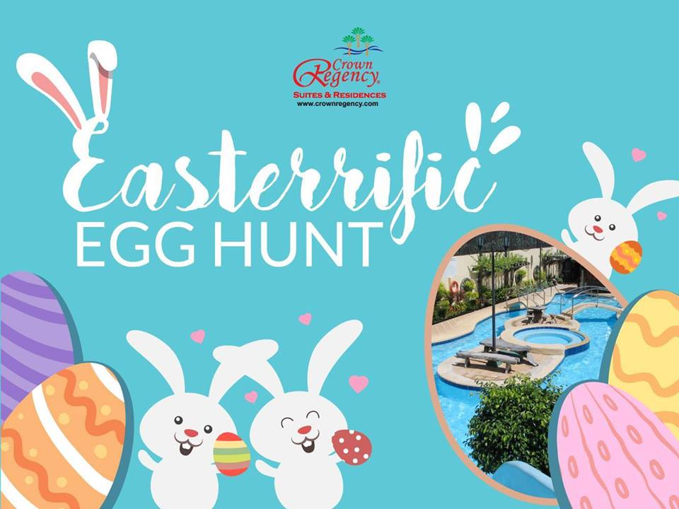 crown regency mactan easter egg hunt 2017