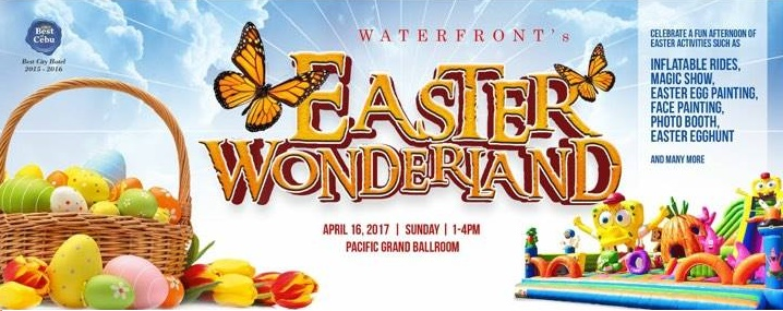 waterfront easter egg hunt cebu 2017