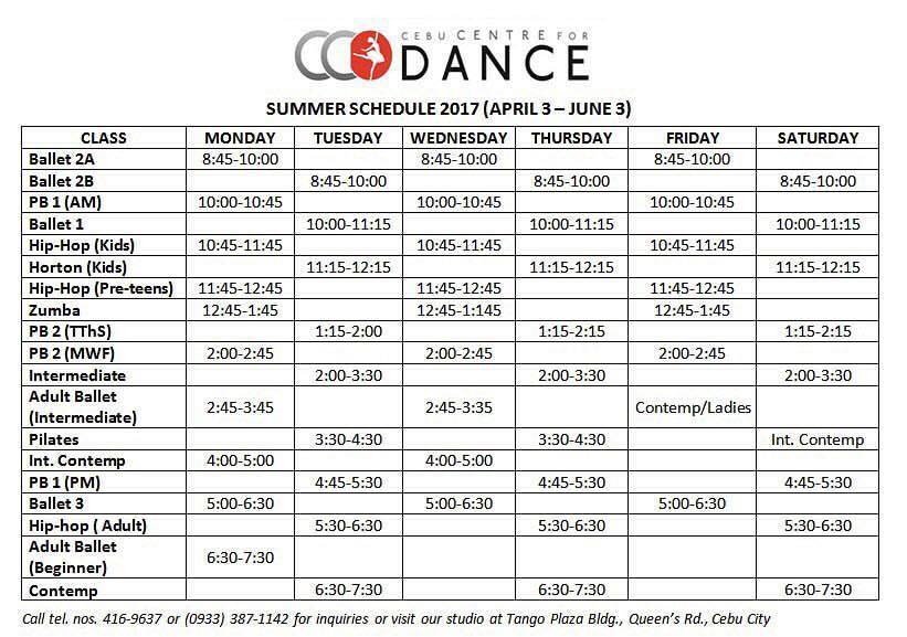 summer class 2017 in cebu - dance