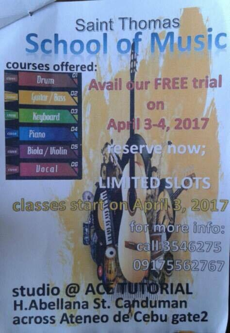 Summer Class 2017 in Cebu - Music