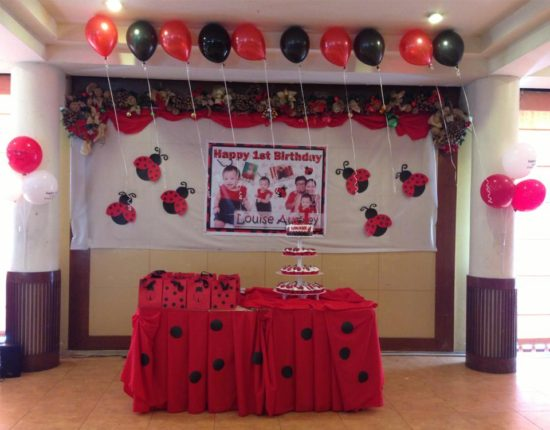 ladybug theme birthday party at sugbahan cebu