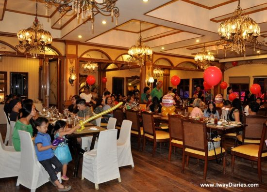 Pino Restaurant function room