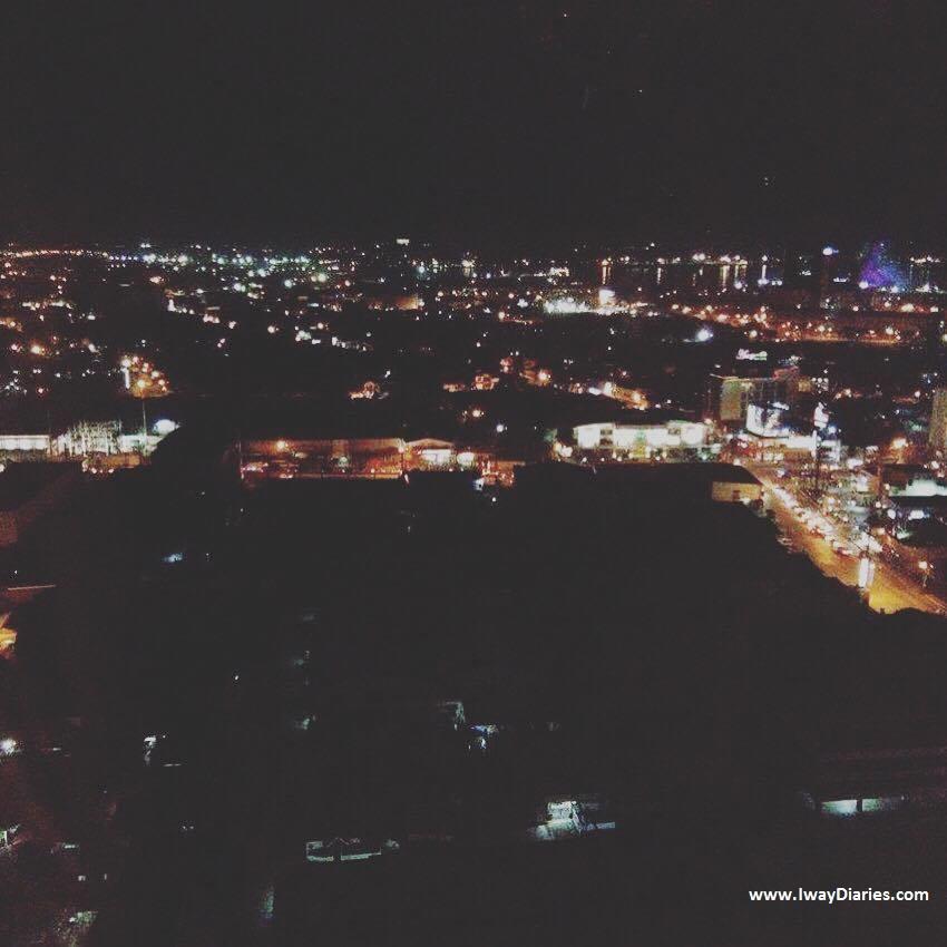 Toyoko Inn Cebu - view at night time