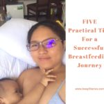 FIVE Practical Tips For a Successful Breastfeeding Journey, cebu mommy blogger