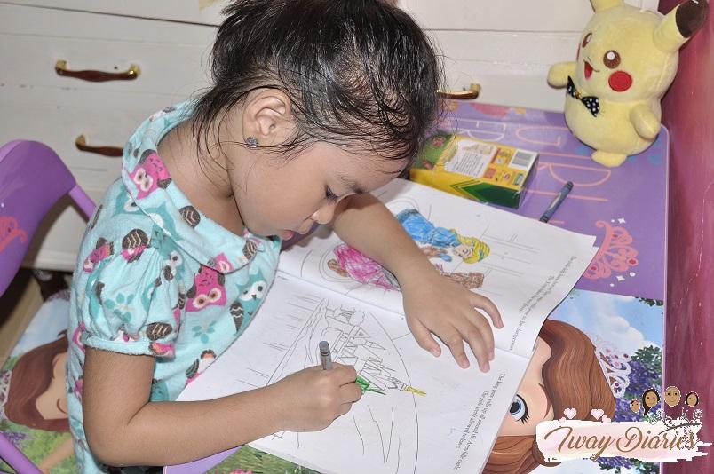 Louise drawing