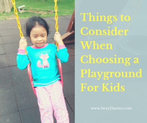 cebu mommy blogger - Things to Consider When Choosing a Playground For Kids