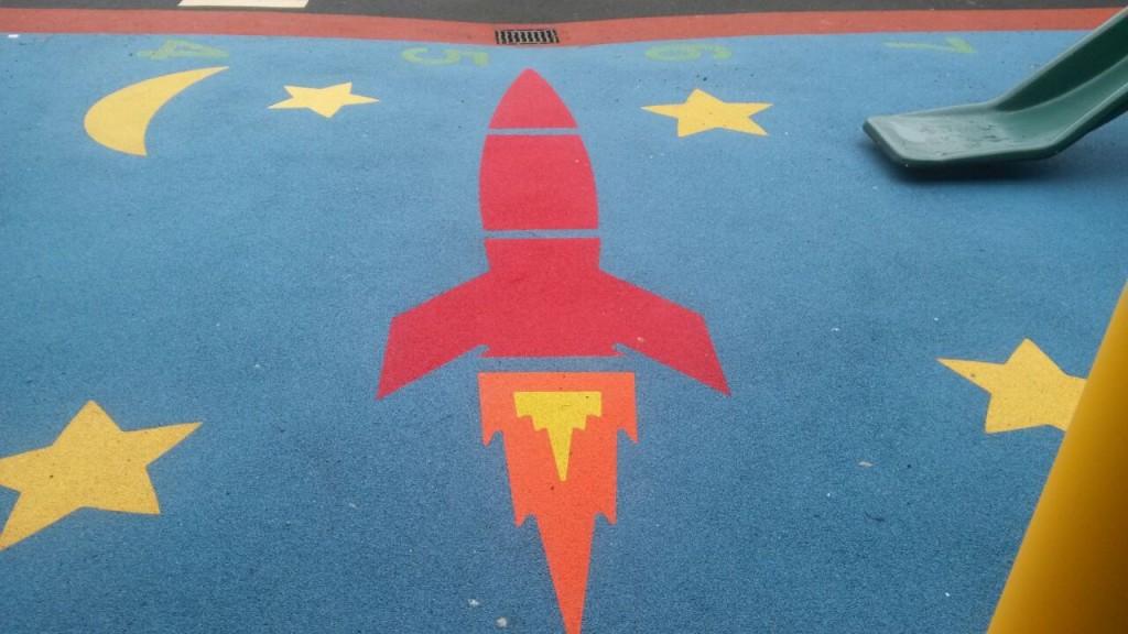 rocket design soft surface