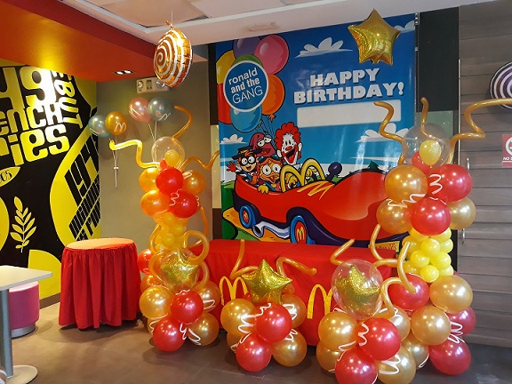 McDonald Cebu Halloween event