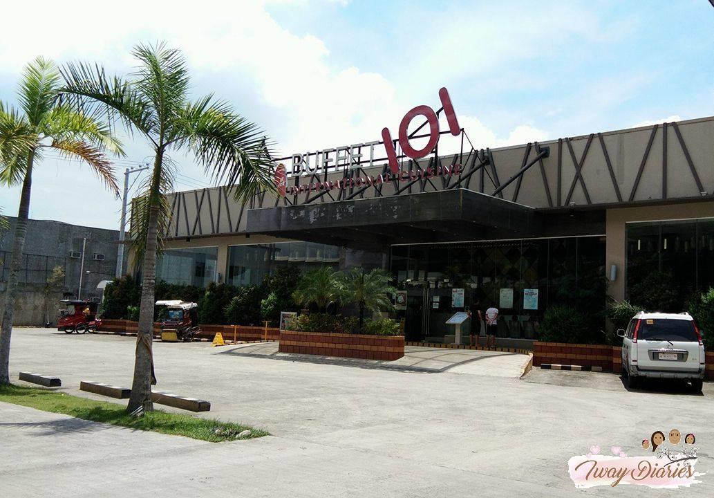 buffet 101 cebu _entrance