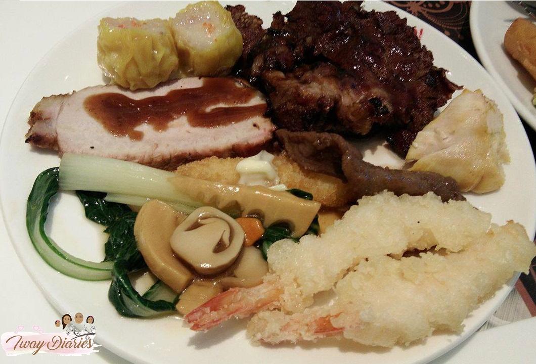 buffet 101 food