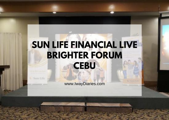 sunlife live brighter forum cebu