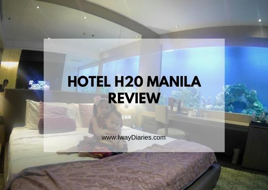 Hotel H20 Manila Review