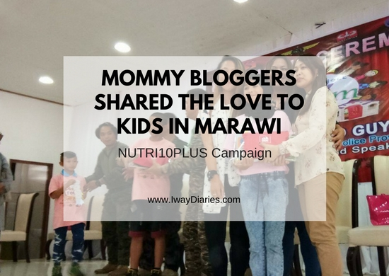 MOMMY BLOGGERS SHARED THE LOVE TO KIDS IN MARAWI