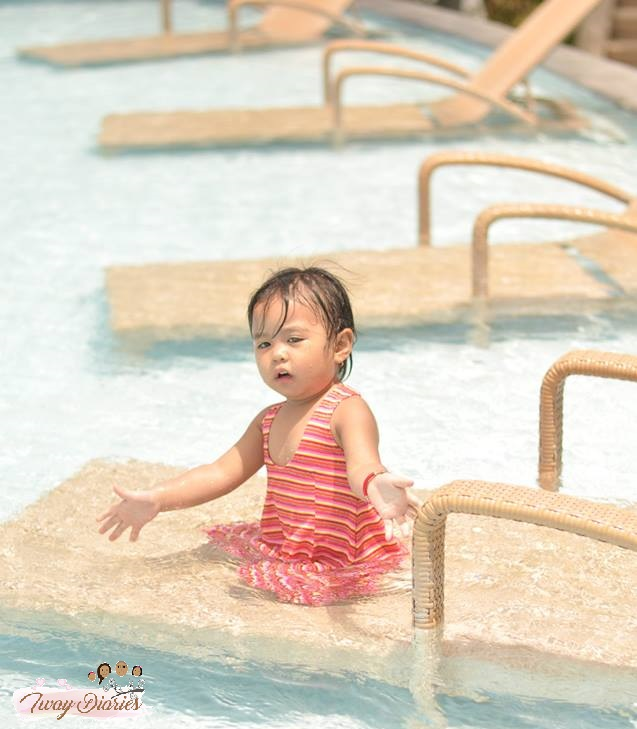 baby Louise at Marco Polo Hotel