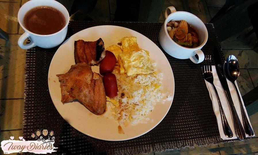 breakfast at Makan Makan Asian Food Village