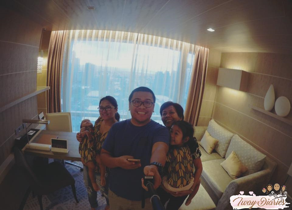 family at the shangri-la at the fort