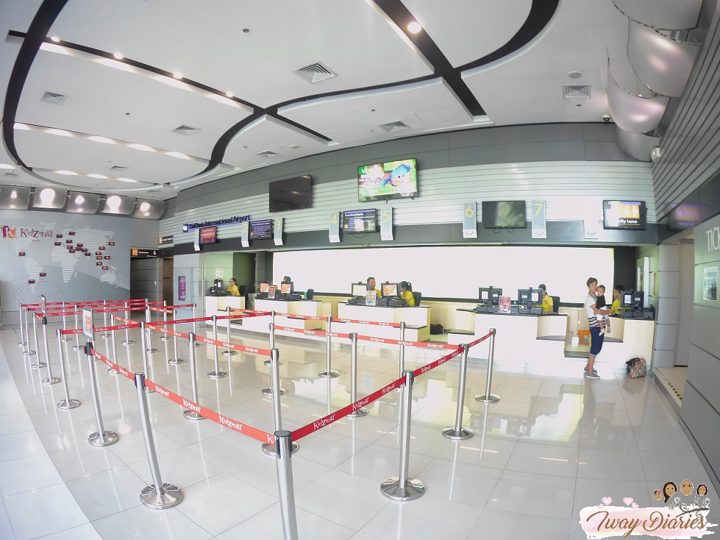 Kidzania - registration area