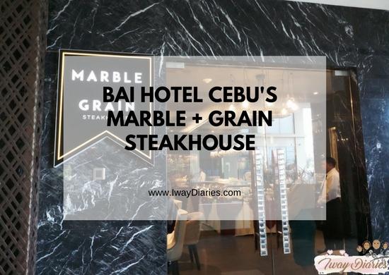 Marble + Grain at Bai Hotel