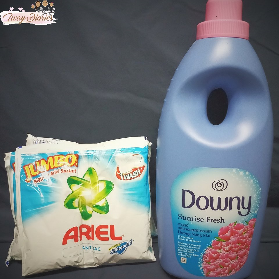 ariel and downy