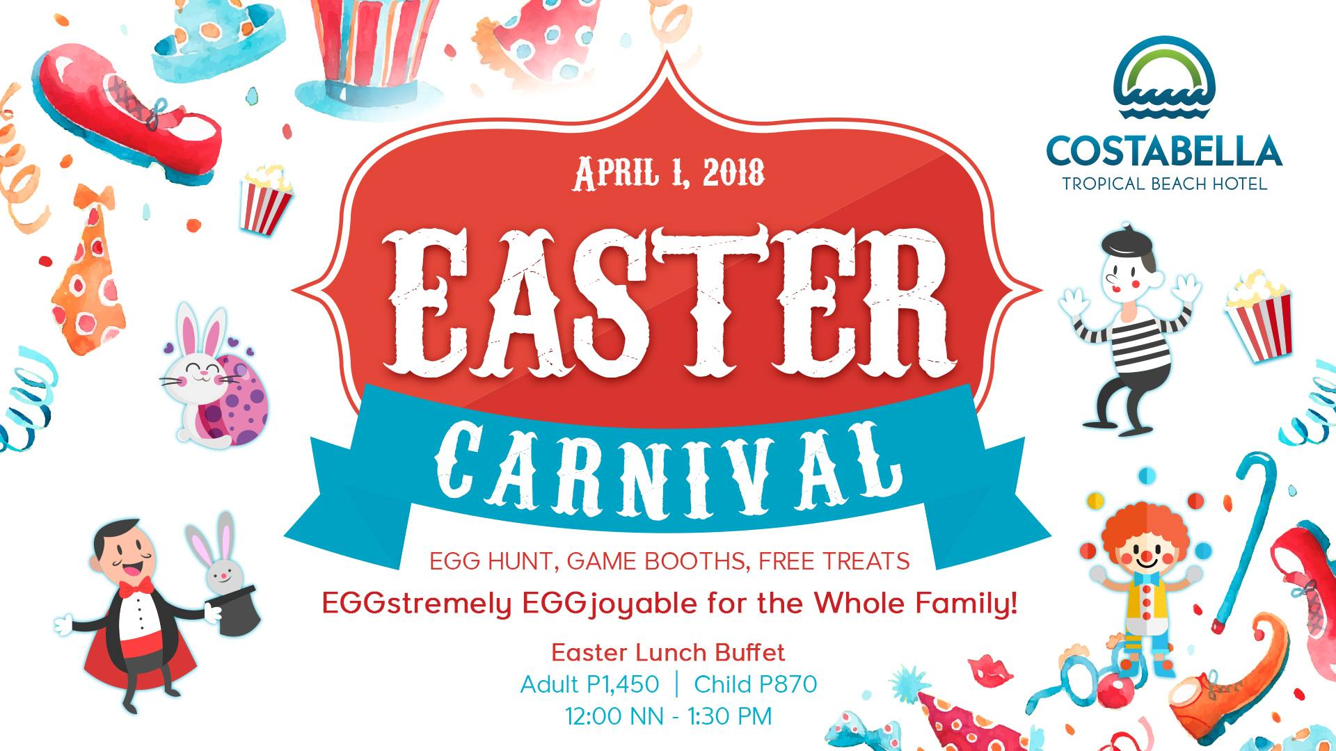 Costabella Resort Easter Egg hunt