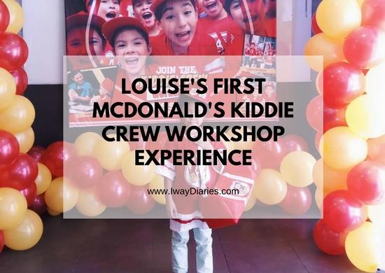 McDonald's Kiddie Crew Workshop