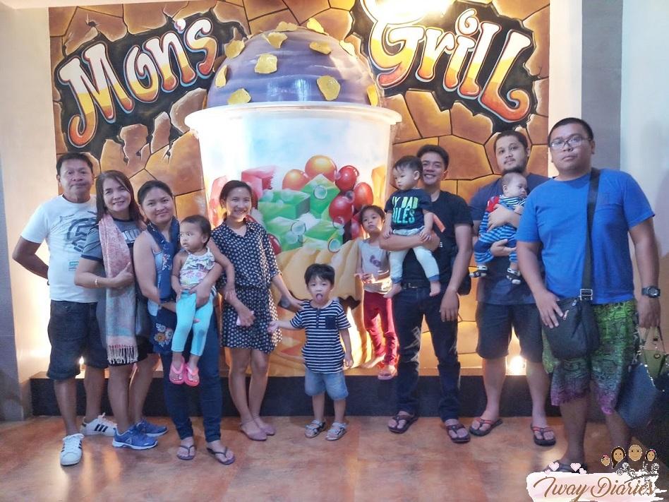 Mons Grill Mahayag with Family