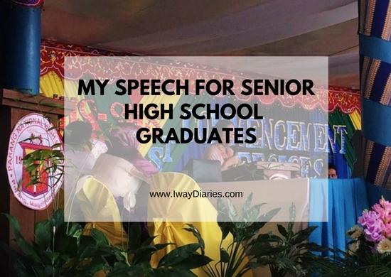 Senior High School Guest Speaker