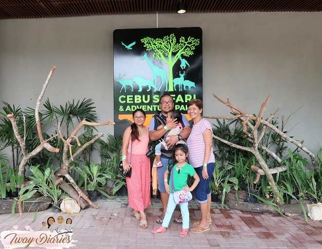 family at cebu safari and adventure park
