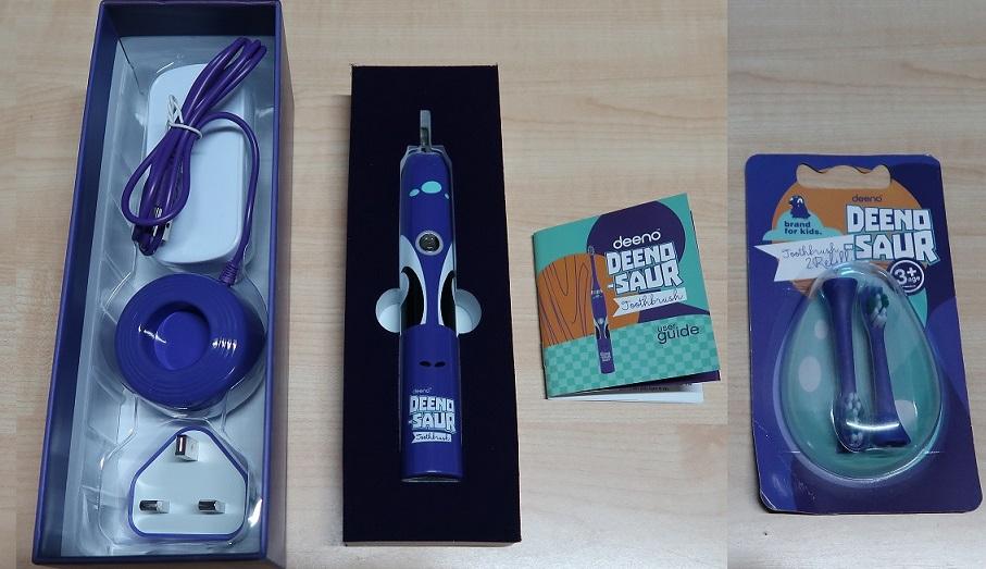 Deeno-saur toothbrush set