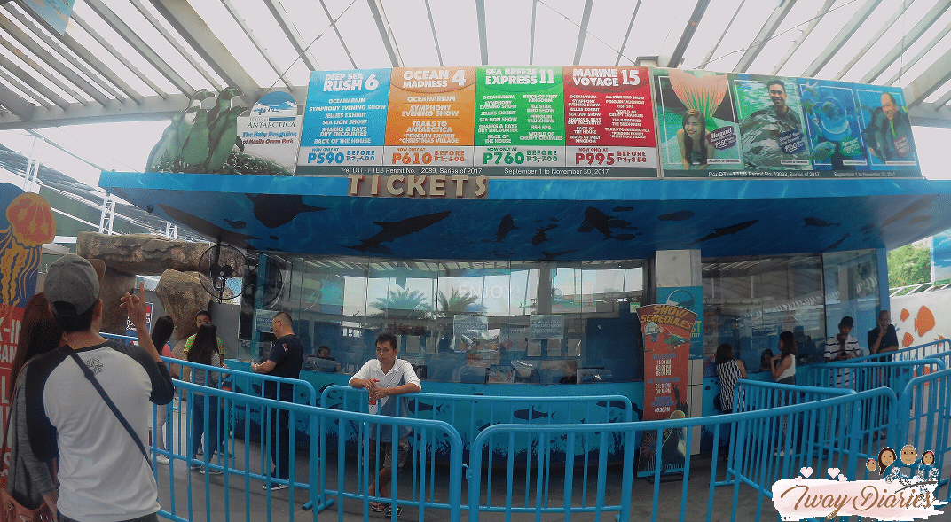 Manila Ocean Park Prices