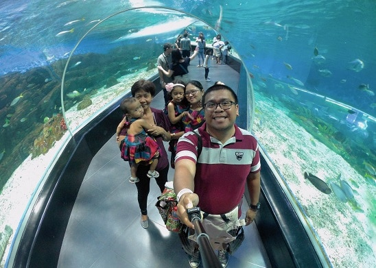 Manila Ocean Park with Family