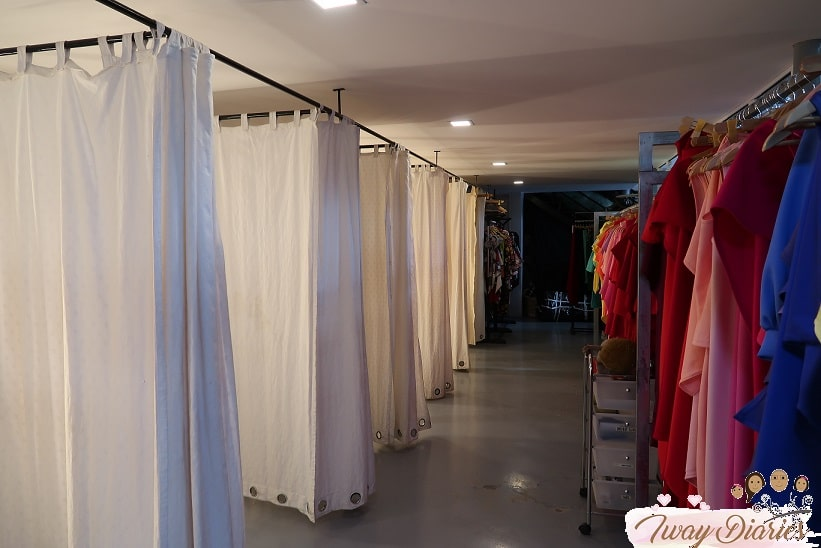 ATE Clothing Fitting room