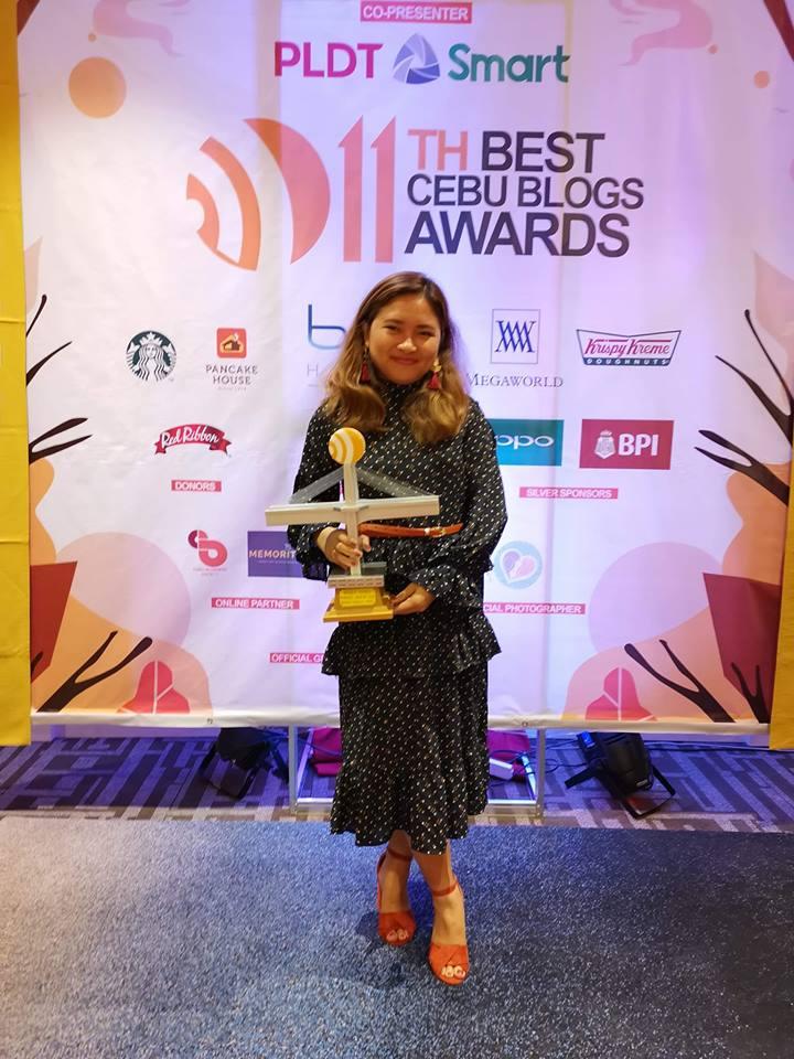 BCBA 2018 Persoal blog winner