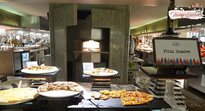 Cafe Bai Pizza station