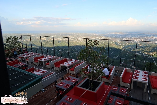 Tops of Cebu Restaurant View