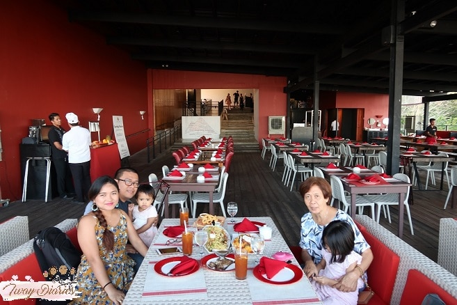 Tops of Cebu Restaurant with family