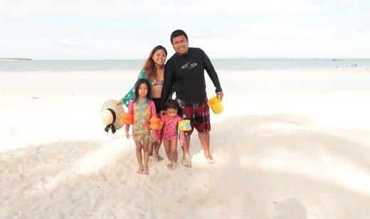Family at Bantayan