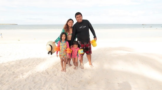 Family at Bantayan