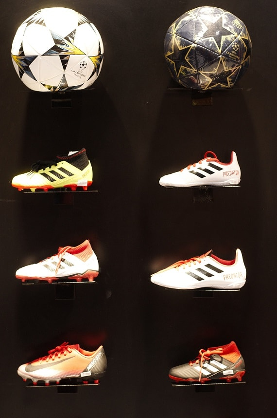 soccer and volleyball shoes