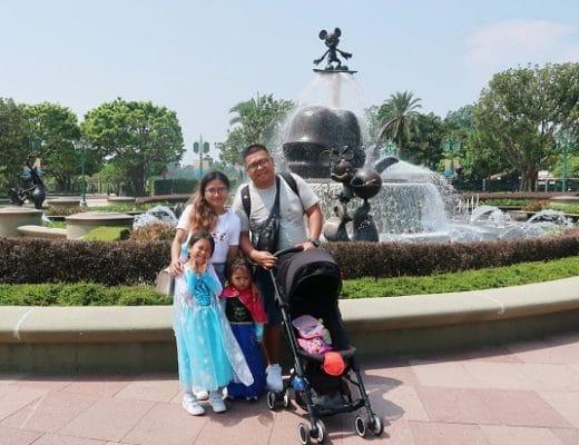 Family Iway in Hong Kong Disneyland