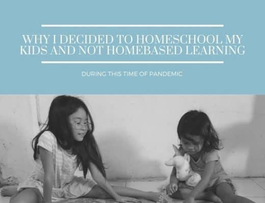 homeschooling vs homebased learning