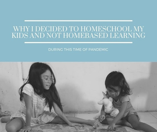 homeschooling vs homebased learning
